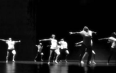 Contemporary Dancers Poster