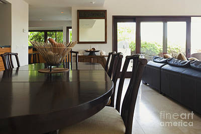 Contemporary Dining Room Poster