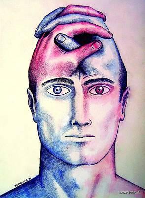Contralateral Stimuli Poster by Paulo Zerbato