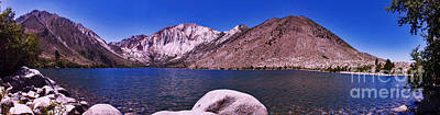 Poster featuring the photograph Convict Lake by Gary Brandes