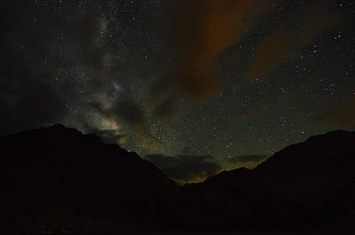 Convict Lake Milky Way Galaxy Poster