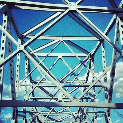Cool #bridge #ohio Poster