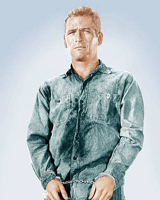 Cool Hand Luke, Paul Newman, 1967 Poster by Everett