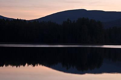Poster featuring the photograph Cooper Lake Dawn by Nancy De Flon