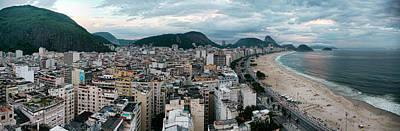 Copacabana Sunset Poster