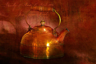 Copper Kettle Poster by James Bethanis