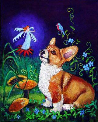Corgi Magic - Pembroke Welsh Corgi Poster