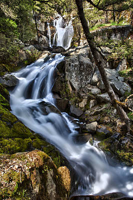 Poster featuring the photograph Corlieu Falls by A A