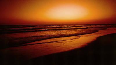 Corona Del Mar Poster by Mark Greenberg