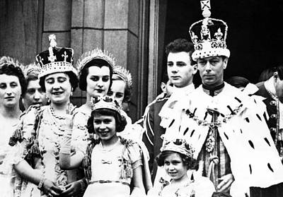 Coronation Of King George Vi Front Row Poster by Everett