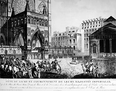 Coronation Of Napoleon I Poster by Granger