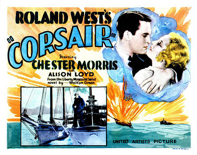 Corsair, Chester Morris, Thelma Todd Poster by Everett