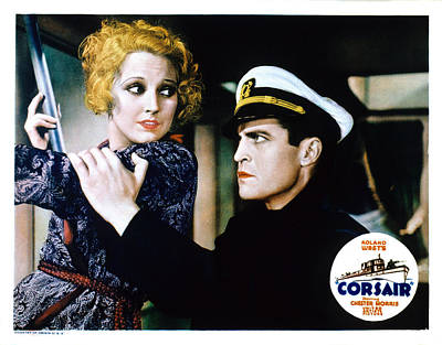 Corsair, Thelma Todd, Chester Morris Poster by Everett