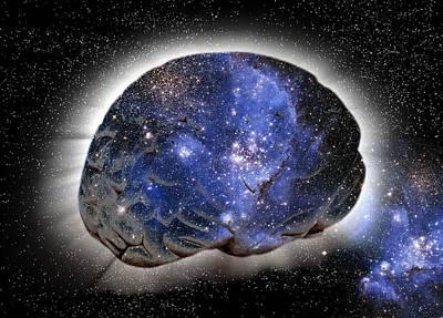 Cosmic Consciousness, Conceptual Artwork Poster