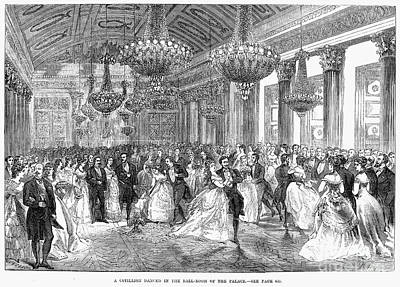 Cotillion, Christmas, 1868 Poster