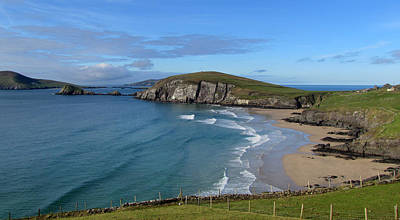 Coumeenole Beach Poster by Barbara Walsh