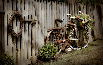 Poster featuring the photograph Country Bike by Michelle Joseph-Long