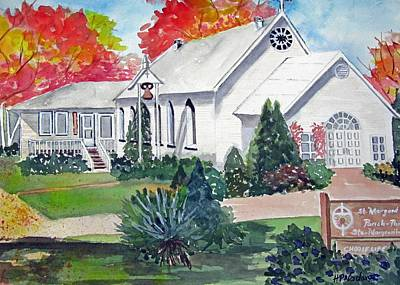 Country Church Poster by Heidi Patricio-Nadon