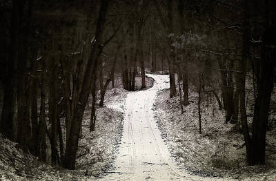 Country Road - Take Me Home Poster by Scott Hovind