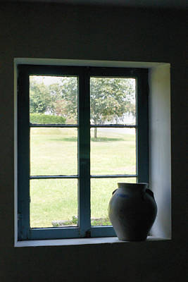 Poster featuring the photograph Country Window by Michelle Joseph-Long