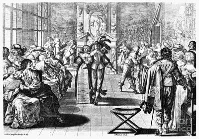 Court Dance, 17th Century Poster by Granger