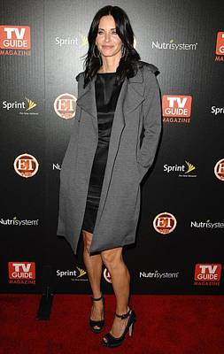 Courteney Cox At Arrivals For Tv Guides Poster