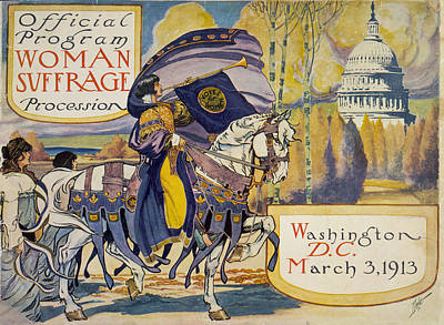 Cover Of Program For The National Poster by Everett