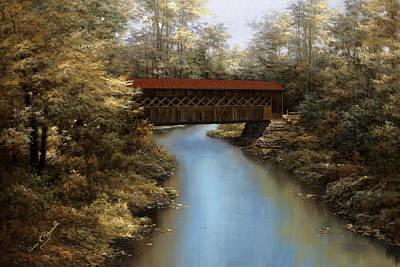 Covered Bridge Poster
