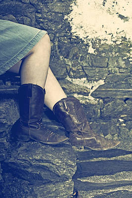 Cowboy Boots Poster by Joana Kruse