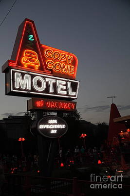 Cozy Cone Motel - Radiator Springs Cars Land - Disney California Adventure - 5d17742 Poster by Wingsdomain Art and Photography