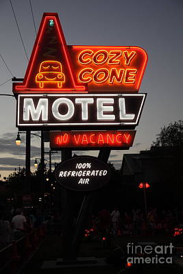 Cozy Cone Motel - Radiator Springs Cars Land - Disney California Adventure - 5d17744 Poster