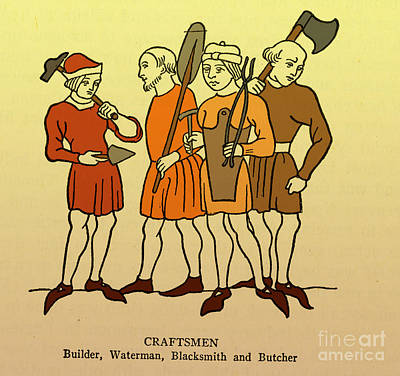 Craftsmen Poster by Science Source