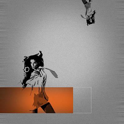 Craze Poster by Naxart Studio