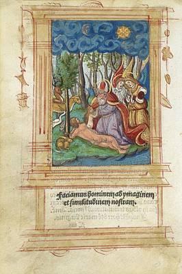 Creation Of Eve, Artwork Poster by Detlev Van Ravenswaay