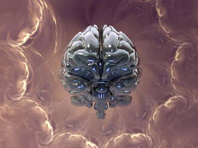 Creation Of The Human Brain, Artwork Poster