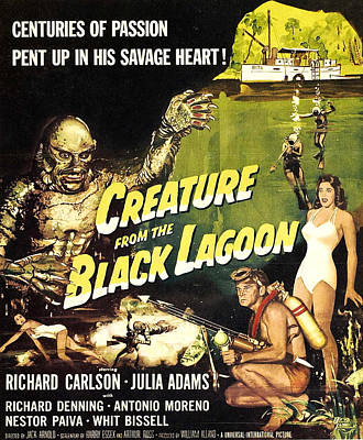 Creature From The Black Lagoon, Richard Poster