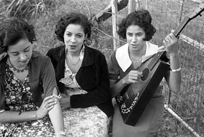 Creole Girls, Plaquemines Parish Poster by Everett