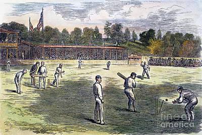 Cricket Match, 1879 Poster