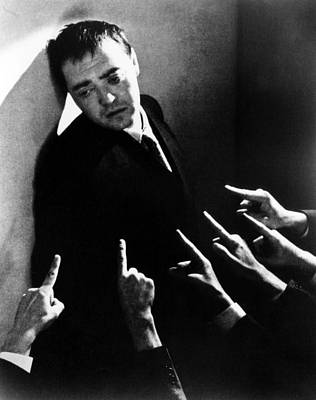 Crime And Punishment, Peter Lorre, 1935 Poster