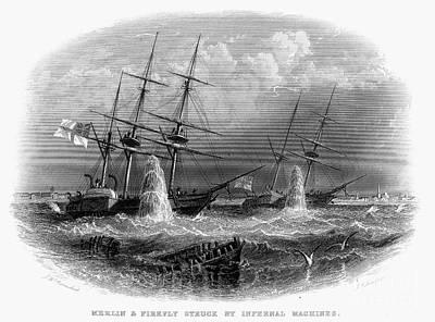 Crimean War: Naval Action Poster by Granger