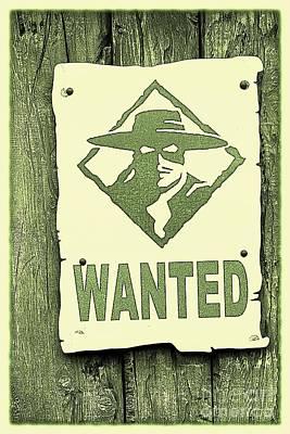 Criminal Wanted Poster by Sophie Vigneault