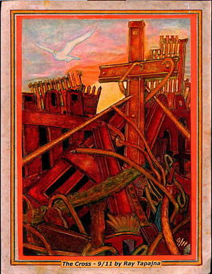 Cross Of Nine Eleven Tangle Of Terror  Poster