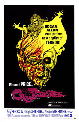 Cry Of The Banshee, 1970 Poster