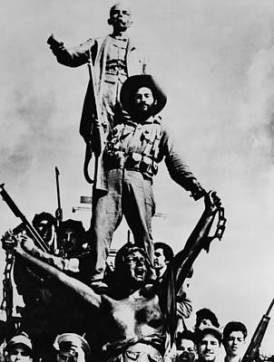 Cuban Revolutionary Soldiers Poster by Everett