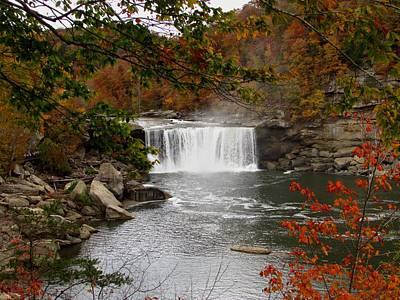 Cumberland Falls 2 Poster by Kathy Long