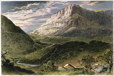 Cumberland Gap, 1872 Poster