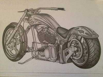 Custom Chopper Poster