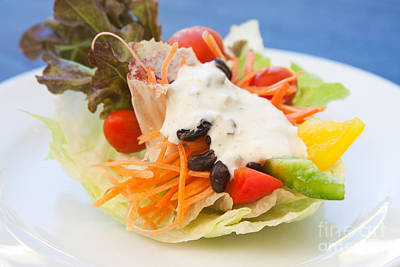 Cute Salad Poster by Atiketta Sangasaeng