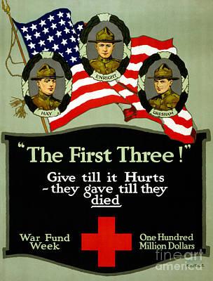 D Cross Poster 1917 Poster by Granger