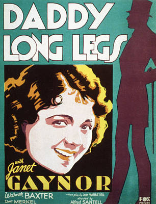 Daddy Long Legs, Janet Gaynor, 1931 Poster by Everett